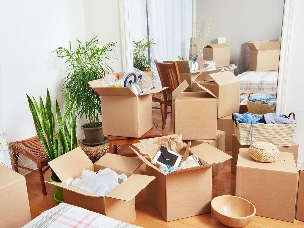 Household Goods Packing and moving services